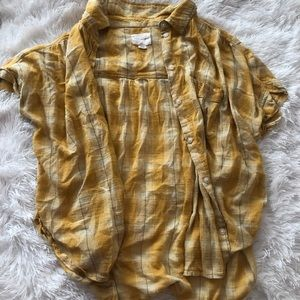 AE button up blouse